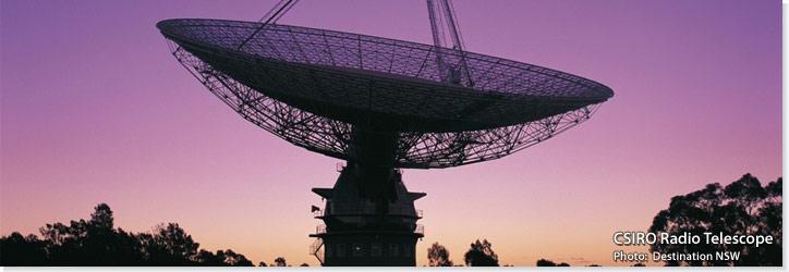 CSIRO Radio Telescope