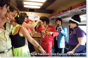 NSW TrainLink Elvis Express