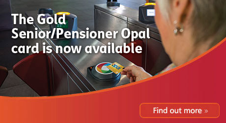 Opal Card for seniors