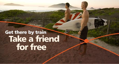 Take a friend for free