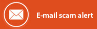E-mail scam alert