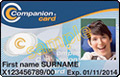 NSW companion card