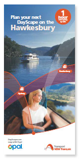 Plan your next DayScape on the Hawkesbury Brochure
