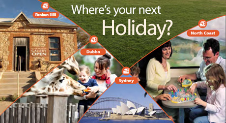 Get back on track with a NSW TrainLink Holiday