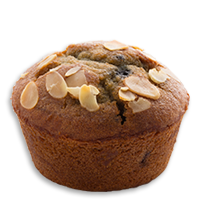 Blueberry almond muffin <small>(GF)</small>