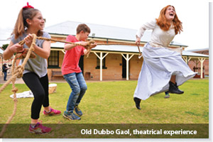 Old Dubbo Gaol theatrical experiences brings history to life