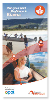 Plan your next DayScape in Kiama Brochure
