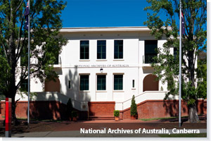National Archives of Australia, Canberra