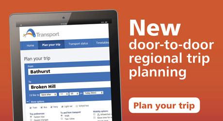 Regional trip planning