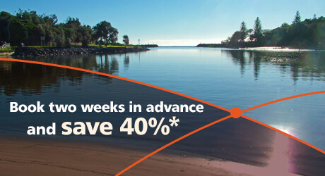 Get on board this spring and save 40%