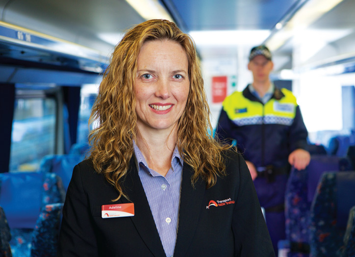Safety and security of all who use NSW TrainLink is important to us.