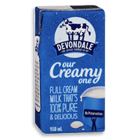 Devondale long life milk