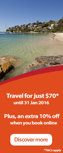 Get there by train for $70