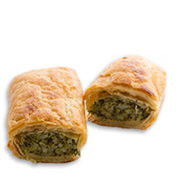 Spinach and ricotta roll <small>(V)</small>